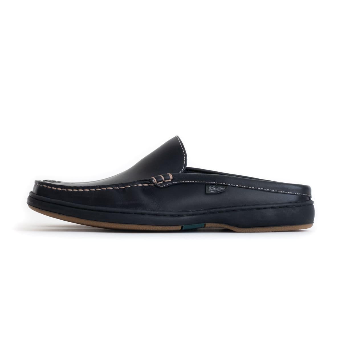 Paraboot ANCYL Lisse (Noir) 860912 パラブーツ アンシル サンダル 革靴 シューズ レザー ラバーソール フランス メンズ 送料無料