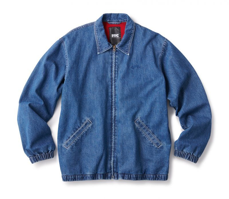 ★送料無料★FTC/DENIM HARRINGTON JKT INDIGO