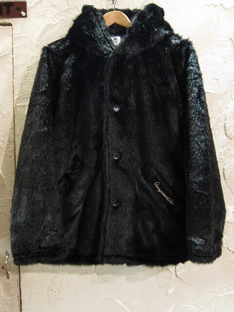 GANGSTERVILLE ギャングスタービル/RIZE ABOVE FUR HOODIE BLACK
