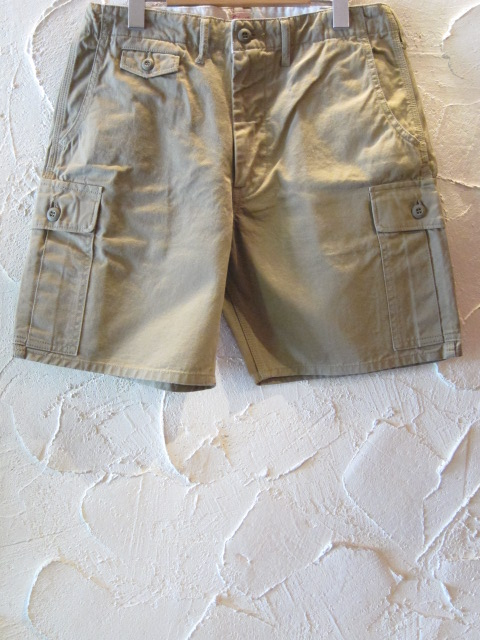 STEAM AND THREAD(スティームアンドスレッド)/MILITARY SHORTS BEIGE