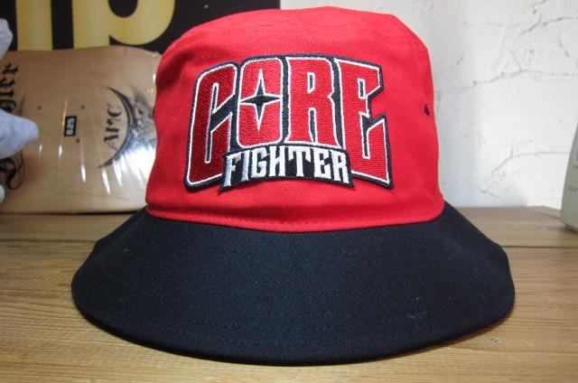 COREFIGHTERコアファイター CLIP #11 驚きの値段で REDxBLACK TEAM HAT 超美品再入荷品質至上