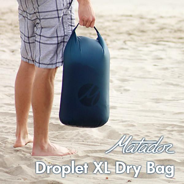 Matador Droplet XL Dry Bag マタドール ドロップレットXLドライバッグ海水浴 プール キャンプ 川遊び 海 防水加工 巾着 アメリカ 水着入れ 登山 アウトドア 夏フェス 超軽量 コンパクト