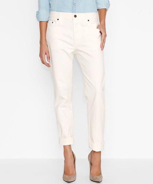【新品】USA企画 レディース LEVI'S #501 CT Jeans for Women/リーバイス #501 CT Cottontail 白【サイズ:レディース W24~W29】【古着屋mellow市場店】