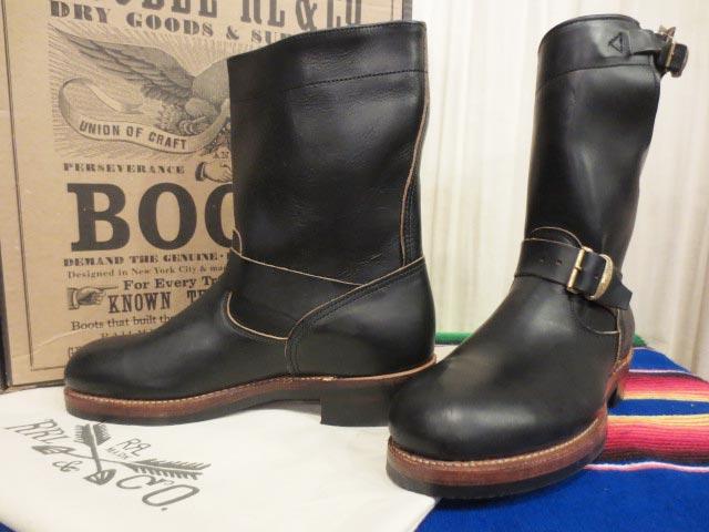 2021セール 【値下げ】【新品】箱付き Boots USA製 USA製 Ralph Lauren RRL ラルフローレン Lauren ダブルアールエル MURDOCK BLACK LEATHER Engineer Boots エンジニアブーツ 9 D【古着屋mellow店】, GoodBaby(グッドベビー):88a8518c --- gerber-bodin.fr