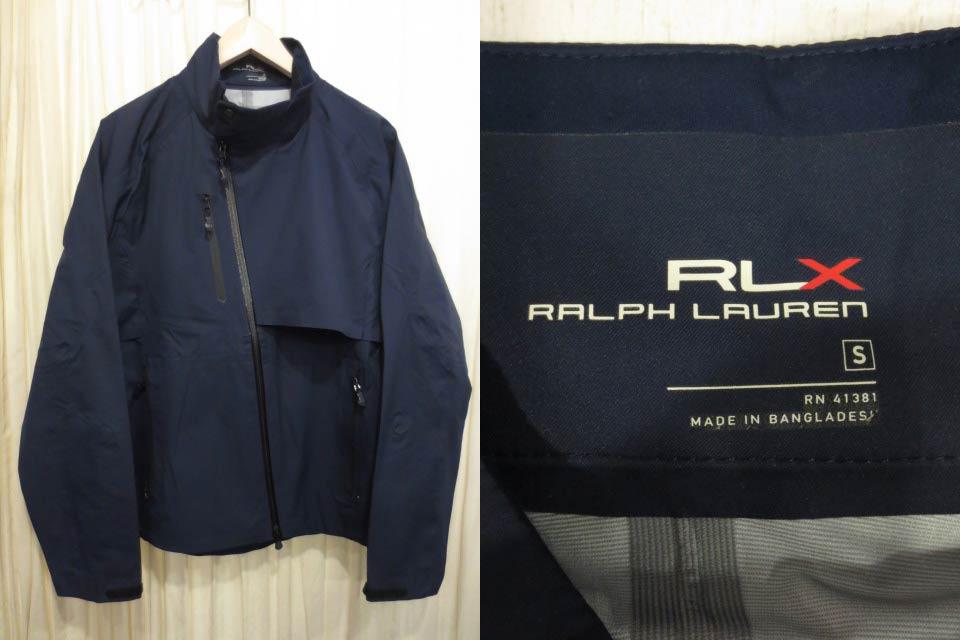 無料発送 【サンプル品】Ralph Lauren RLX ラルフローレン ウインドブレーカー 薄手ナイロンジャケット ネイビー 表記(S)【】【古着屋mellow店】【ゴルフ】, くろがねっとSHOP 95a16ada