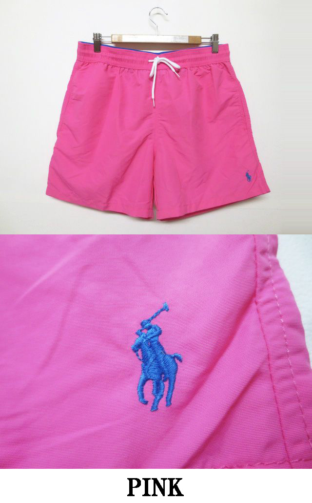 71c7e78e15 ... Polo Ralph Lauren /POLO RALPH LAUREN board shorts nylon short pants one  point embroidery size ...