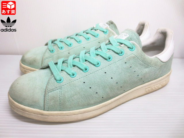 outlet store 5b380 61afc Adidas Stan Smith adidas Stan Smith suede sneakers size: US 11 1/2 mint  green old clothes used mellow