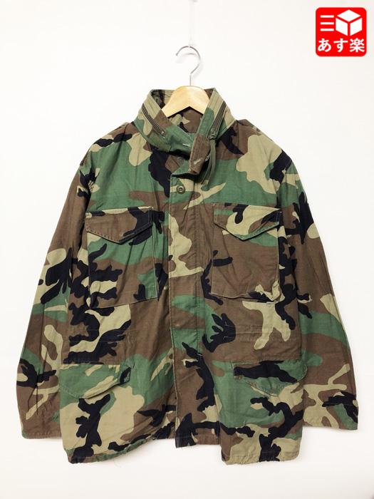 05年製 アメリカ軍 U.S.ARMY M-65 ウッドランドカモ フィールドジャケット サイズ:MEDIUM-REGULAR【ミリタリージャケット】【古着】 古着 【中古】 中古 mellow 【あす楽対応】【古着屋mellow市場店】