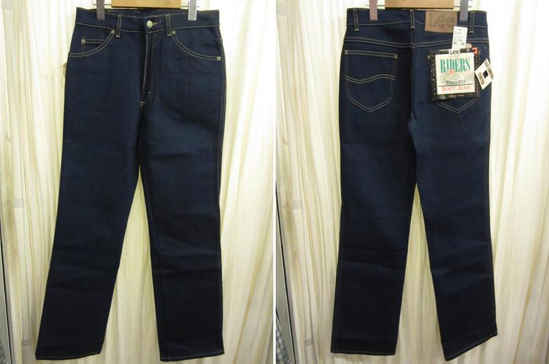 90's USA製 Deadstock Leeリー RIDERS 201-2046 ブーツカット ストレッチデニムパンツ W29【古着屋mellow市場店】