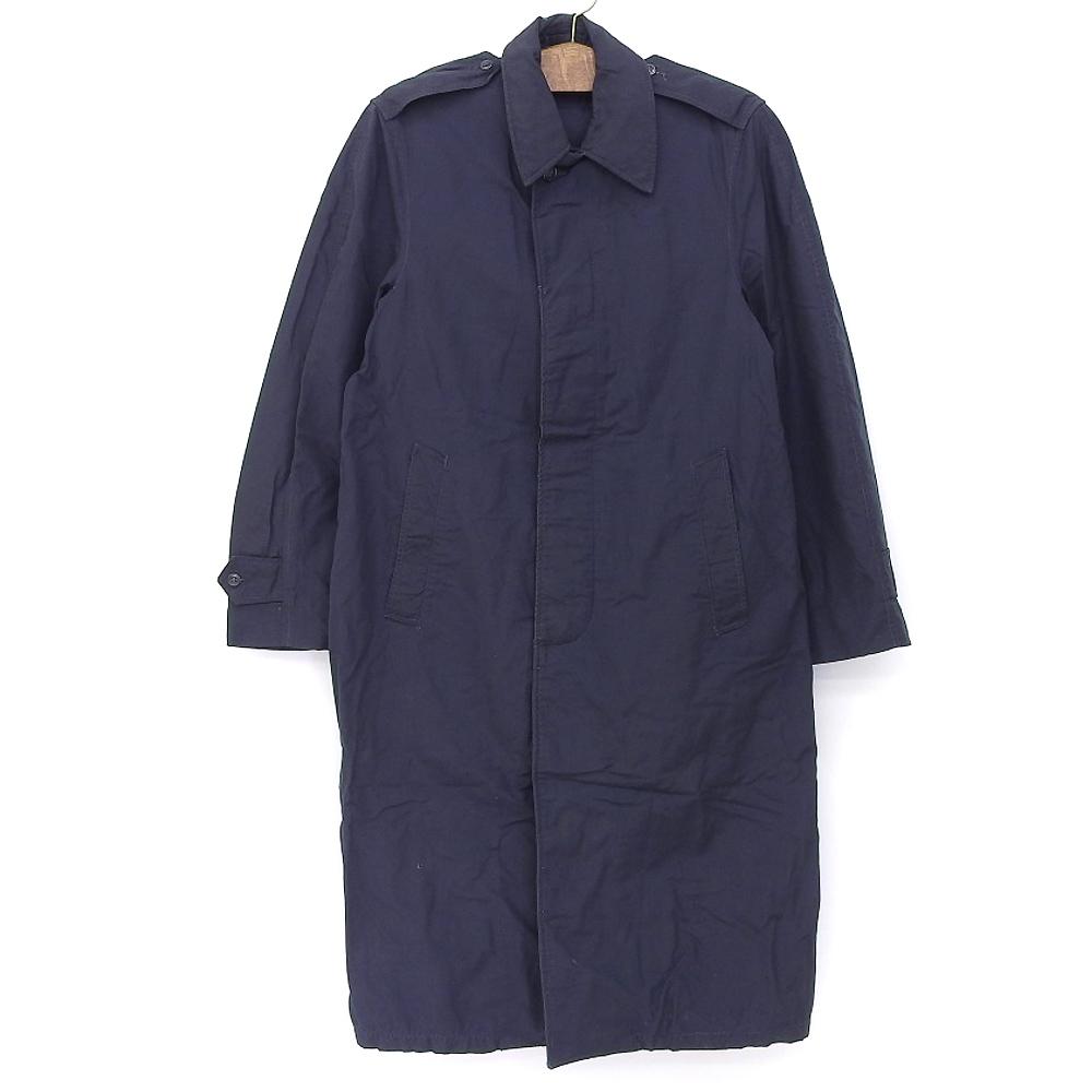55's U.S.A.F Rain Coat U.S.AIR FORCE レインコート サイズ:34R ネイビー【RAINCOAT,NYLON&RAYON,BLUE】【MIL-R-3386A】【古着】 古着 【中古】 中古 mellow【あす楽対応】【古着 mellow市場店】