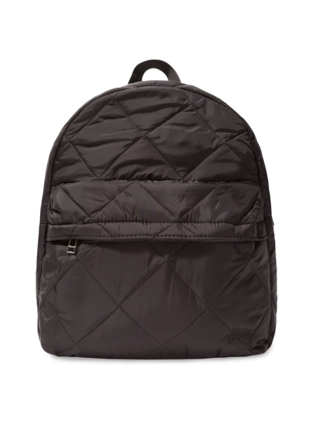 【NEW】 レディース ステューシー ロゴ刺繍 ナイロン キルティング バックパック リュック バッグ ブラック 黒 STUSSY Barriers Quilted Backpack Black 233010 【新品】 新品 mellow 【smtb-m】【古着屋mellow市場店】