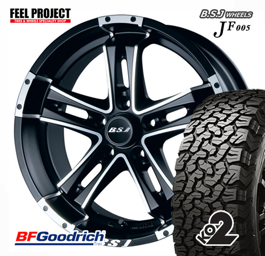 ●BFグッドリッチ●ALL-TERRAIN●KO2●LT215/70-16●100/97R●JF005●215/70R16●アルミ●4本セット