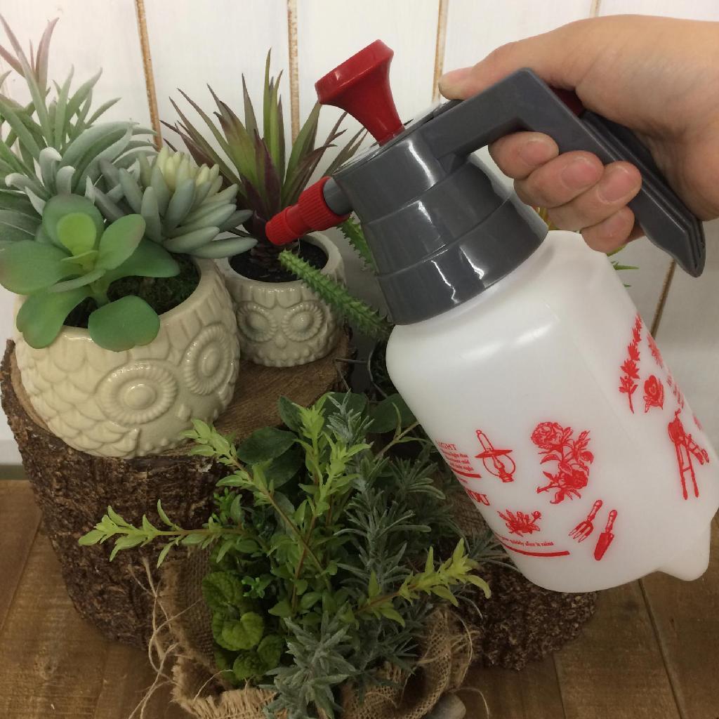 毎日の水やりを手軽に ガーデン雑貨 スプレー ガーデン圧縮式スプレー 上品 UP TO ガーデニング 1L YOU ミスト 期間限定今なら送料無料 おしゃれ 水やり