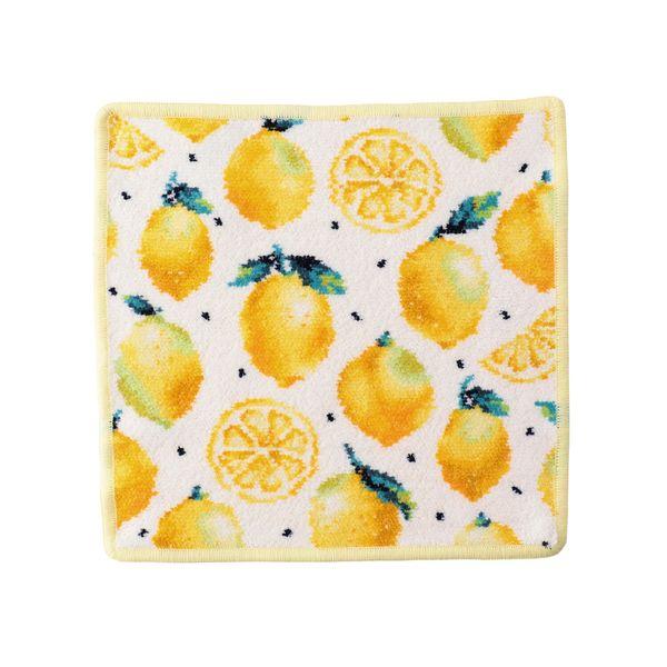 お得クーポン発行中 メーカー在庫限り品 フェイラー公式 LOVERARY レモンドット ハンカチ