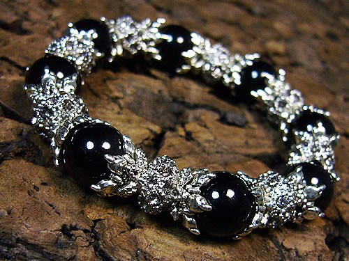 39ショップ 気質アップ 羅王:ラオウ タイガーアイ 芦屋ダイヤモンド天然石ブレスレット オニキス 上質