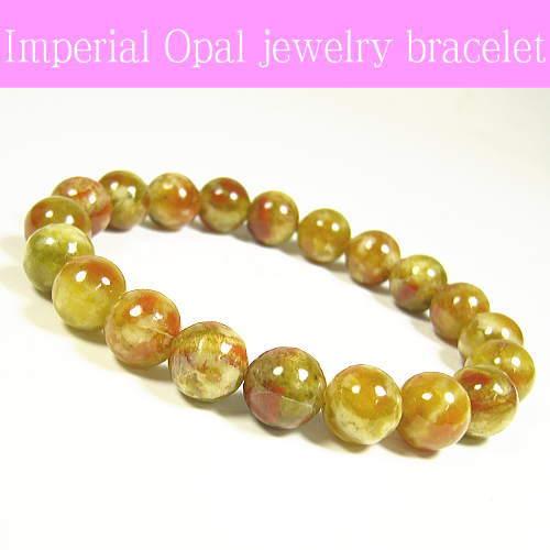 インペリアルオパール天然宝石ブレスレット