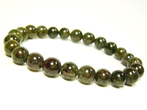 39ショップ 正規品 アクチノライト緑光石 天然石パワーストーン7mm 1点もの 未使用