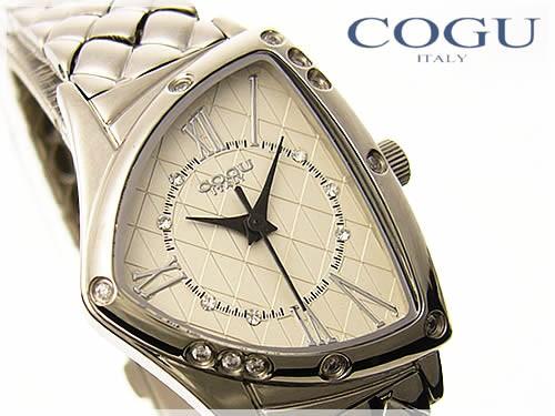 COGU ITALY(コグイタリー)レディース腕時計≪三角フェイスケース≫