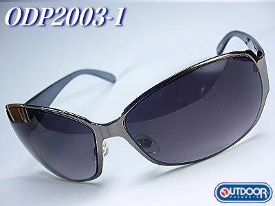 OUTDOOR【アウトドア】=スポーツサングラス=《スモークレンズ》ODP2003-1