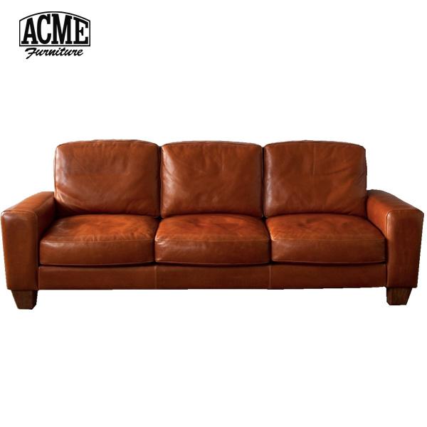 ACME Furniture(アクメファニチャー)FRESNO LEATHER SOFA(フレスノ レザーソファ)3シーター・ワイド