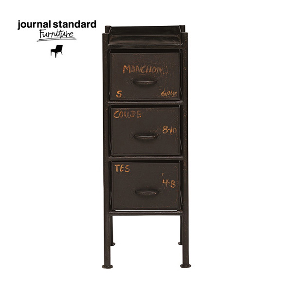 journal standard Furniture(ジャーナルスタンダードファニチャー)GUIDEL 3DRAWERS CHEST(ギデル3ドロワーチェスト)