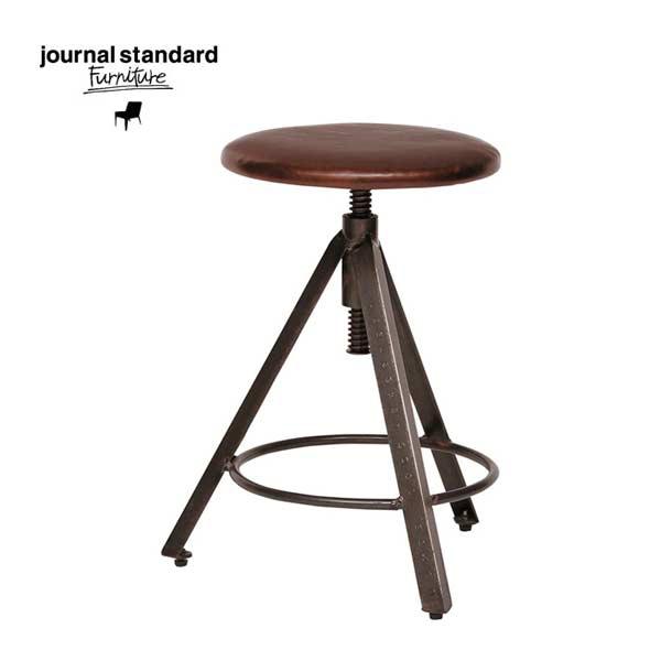 journal standard Furniture(ジャーナルスタンダードファニチャー)CHINON STOOL LEATHER(シノンスツール・レザーシート)