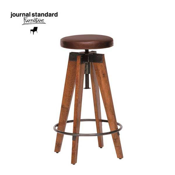 journal standard Furniture(ジャーナルスタンダードファニチャー)CHINON HIGH-STOOL LEATHER(シノンハイスツール・レザーシート)