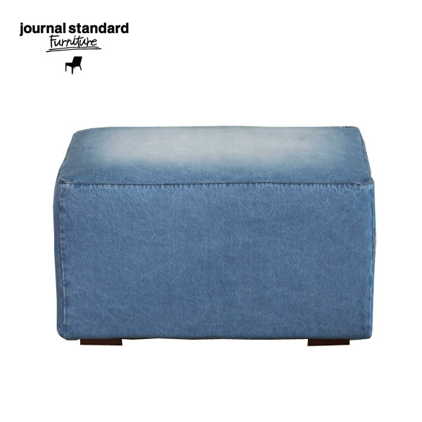 journal standard Furniture(ジャーナルスタンダードファニチャー)FRANKLIN OTTOMAN DENIM(フランクリンオットマン デニム)