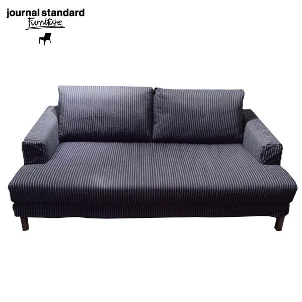 journal standard Furniture(ジャーナルスタンダードファニチャー)JFK SOFA INDIGO STRIPE(ジェイエフケーソファ・インディゴストライプ)