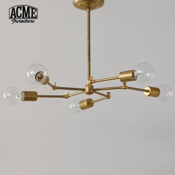 ACME Furniture(アクメファニチャー)SOLID BRASS LAMP 5ARM(ソリッドブラスランプ5アーム)