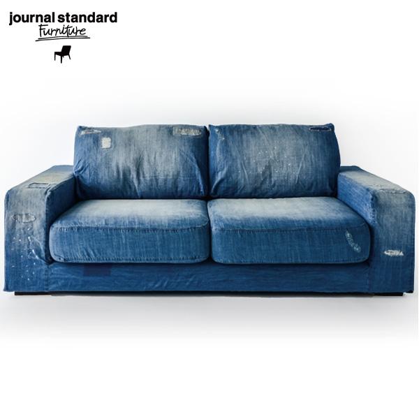 journal standard Furniture(ジャーナルスタンダードファニチャー)FRANKLIN SOFA Damage DENIM(フランクリン ソファ2シーター ダメージデニム)