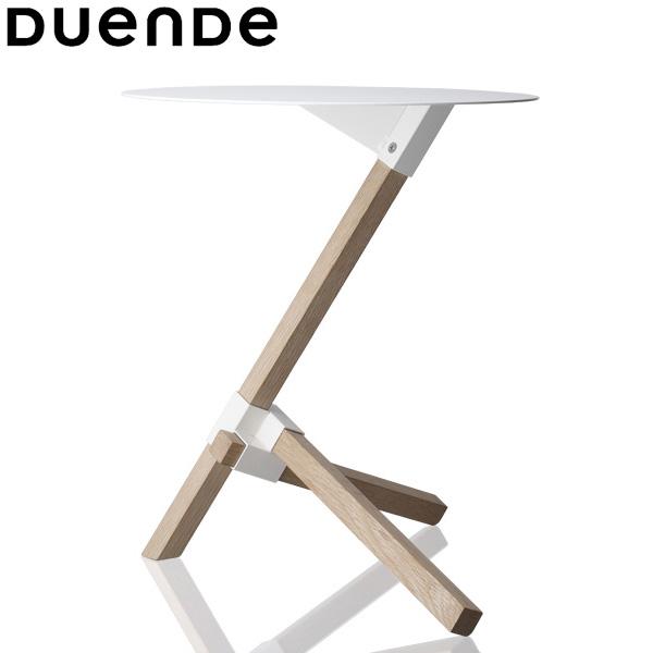 DUENDE(デュエンデ)TRE(トレ)サイドテーブルホワイト