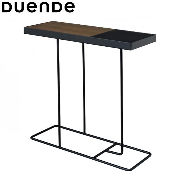 DUENDE(デュエンデ)Companion(コンパニオン)サイドテーブルブラックフレーム×ブラックトレイ