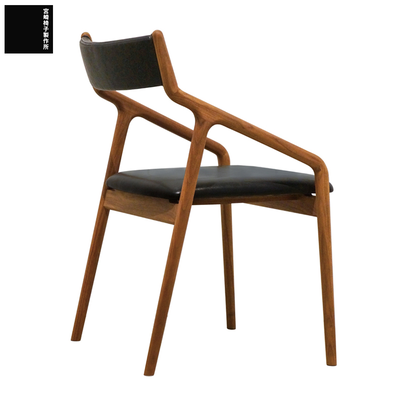 宮崎椅子製作所PePe side chair(ぺぺ サイドチェア)背布張タイプ