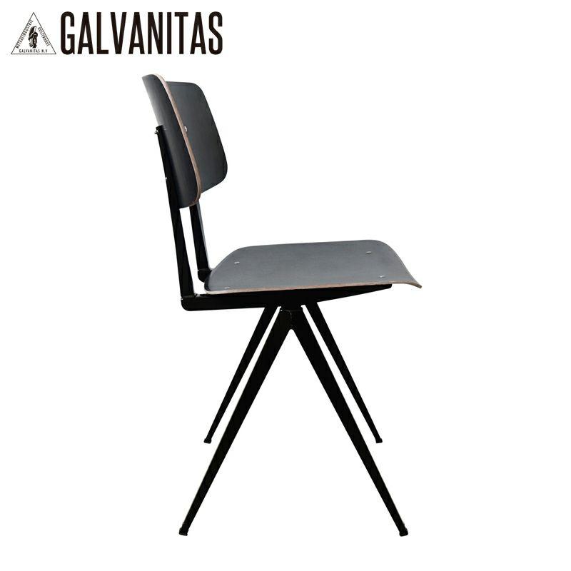 GALVANITAS(ガルファニタス)モデルS.16チェア・ブラック