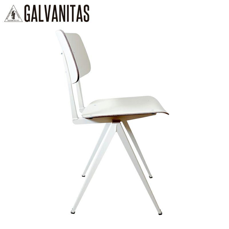 GALVANITAS(ガルファニタス)モデルS.16チェア・ホワイト