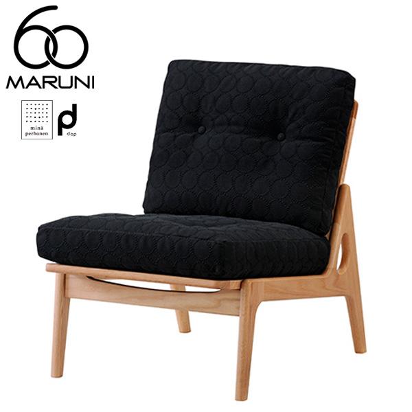 マルニ60オークフレームチェアアームレス・ナチュラル塗装dopタンバリン・ブラック