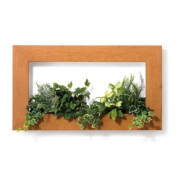 PIANTA×STANZA(ピアンタ・スタンツァ)マイギャラリー・Lサイズ900×500mmクリア(フェイクグリーン/人工植物)