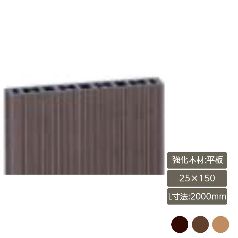 ウッディな空間づくりに役立ちます デザイナーズパーツ 強化木材 平板 25×150 L寸法2000mm部材 おしゃれ DIY LIXIL 25%OFF 庭 ガーデン スタイリッシュ リクシル お得