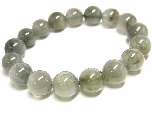 パワーストーン 天然石 ブルールチル ルチルクォーツ 藍針水晶 ブレスレット 12~12.5mm 【Felistone】 BLURB09