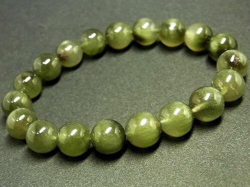 パワーストーン 天然石 グリーンルチル ルチルクォーツ 緑針水晶 ブレスレット 10mm 【Felistone】 GRRB15