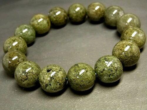 パワーストーン 天然石 ガーデンクォーツ 庭園水晶 ガーデン水晶 ブレスレット 14~15mm 【Felistone】 GardenB43