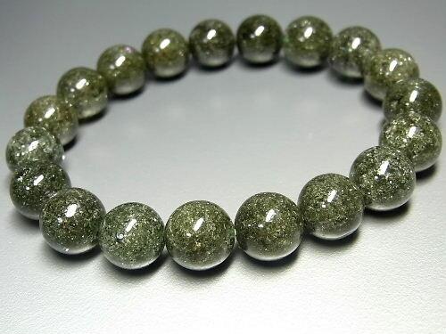 パワーストーン 天然石 ガーデンクォーツ 庭園水晶 ガーデン水晶 ブレスレット 10.5~11mm 【Felistone】 GardenB46