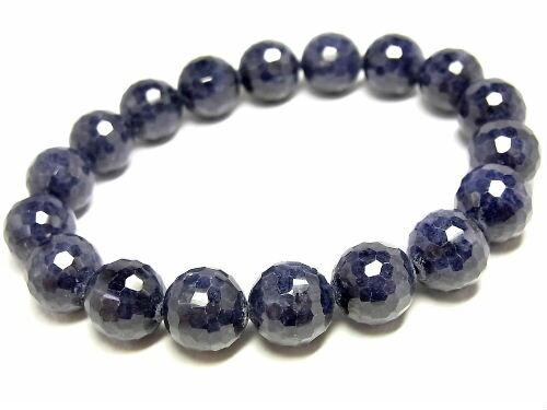 パワーストーン 天然石 サファイア 藍宝石 ブレスレット 11mm 【Felistone】 SapphireB07