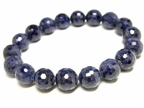 パワーストーン 天然石 サファイア 藍宝石 ブレスレット 11~11.5mm 【Felistone】 SapphireB08