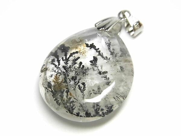 パワーストーン 天然石 デンドライト 模樹石 水晶 ペンダン 【Felistone】 DendriteP04