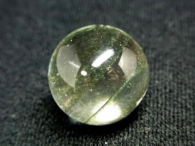 パワーストーン 天然石 グリーンファントム 水晶球 21mm 【Felistone】 CrystalBall13