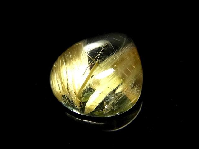 パワーストーン 天然石 最高級 高透明 タイチンルチル ルチルクォーツ 水晶 ルース 裸石 Loose06 【Felistone】