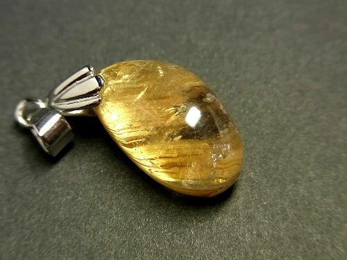パワーストーン 天然石 タイチンルチル ルチルクォーツ 水晶 ペンダント TRP98 【Felistone】