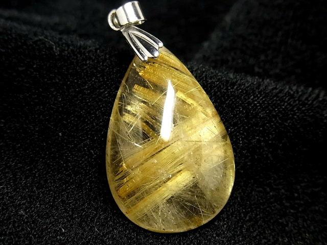 パワーストーン 天然石 タイチンルチル ルチルクォーツ 水晶 ペンダント TRP144 【Felistone】【ポイント10倍・クーポン5~15%OFF】